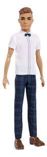 Barbie poupée mannequin  Ken Fashionistas Slim 117 - Slick Plaid-commercieel beeld