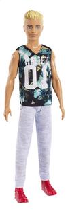 Barbie poupée mannequin  Ken Fashionistas Original 116 - Game Sunday-commercieel beeld