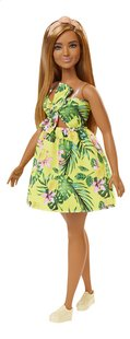 Barbie poupée mannequin  Fashionistas Curvy 126 - Yellow jungle-commercieel beeld