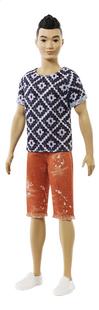 Barbie poupée mannequin  Ken Fashionistas Original 115 - Boho Hip-commercieel beeld