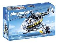 PLAYMOBIL City Action 9363 SIE - helikopter-Linkerzijde