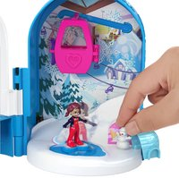 Polly Pocket speelset World Sneeuwbol Compact-Afbeelding 1