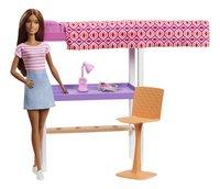 Barbie speelset Studentenkamer-Vooraanzicht
