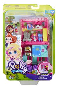 Polly Pocket speelset micro Polyville restaurant-Vooraanzicht