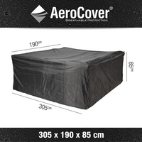 AeroCover beschermhoes voor tuinset L 305 x B 190 x H 85 cm polyester-Artikeldetail