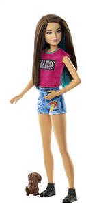 Barbie poupée mannequin  La recherche des chiots Soeurs Skipper