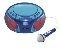 Lenco radio/lecteur CD portable SCD 650 bleu-Image 2