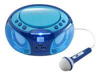 Lenco radio/lecteur CD portable SCD 650 bleu-Image 3