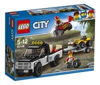 LEGO City 60148 L'équipe de course tout-terrain
