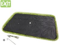 EXIT afdekzeil voor trampoline 3,66 x 2,14 m-Vooraanzicht