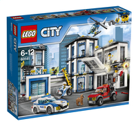 LEGO City 60141 Politiebureau-Linkerzijde