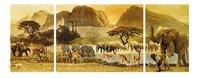 Ravensburger puzzle Triptychon Voyage en Afrique-Avant