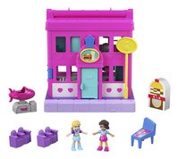 Polly Pocket speelset micro Polyville restaurant-commercieel beeld