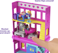 Polly Pocket speelset micro Polyville restaurant-Afbeelding 1