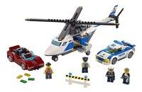 LEGO City 60138 La course-poursuite en hélicoptère