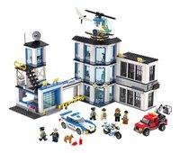 LEGO City 60141 Politiebureau-Vooraanzicht
