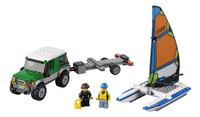 LEGO City 60149 Le 4x4 avec catamaran