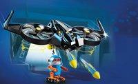 PLAYMOBIL The Movie 70071 Robotitron avec drone-Image 1