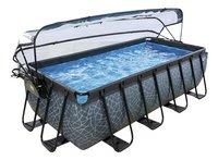 EXIT zwembad Stone met overkapping en zandfilter 4 x 2 m-Artikeldetail