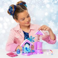 Speelset Hatchimals CollEGGtibles Glitter Salon Royal Snow Ball-Afbeelding 2