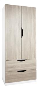 Armoire 2 portes et 2 tiroirs Juliette