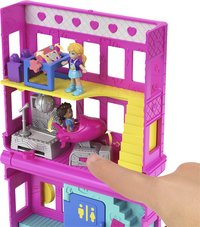 Polly Pocket speelset micro Polyville restaurant-Afbeelding 2