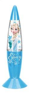 Glitterlamp Disney Frozen Elsa blauw