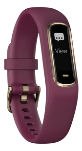 Garmin activiteitsmeter Vivosmart 4 S/M violet-Vooraanzicht