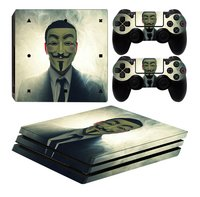 PS4 Pro console skin + 2 controllers skins Anonymous