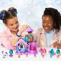 Speelset Hatchimals CollEGGtibles Glitter Salon Royal Snow Ball-Afbeelding 4