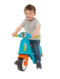 Smoby loopfiets Blue Scooter blauw-Afbeelding 1
