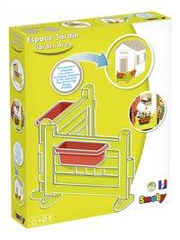 Smoby uitbreiding voor speelhuisjes Neo Jura Lodge, My Neo House en Chef House - Tuintje-Linkerzijde
