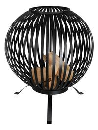 Esschert brasero Fire ball stripes noir-Image 1