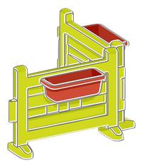 Smoby uitbreiding voor speelhuisjes Neo Jura Lodge, My Neo House en Chef House - Tuintje-product 3d drawing