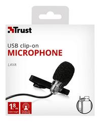 Trust microfoon Clip-on-Vooraanzicht
