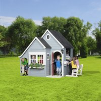 Backyard Discovery houten speelhuisje Spring Cottage-Afbeelding 4