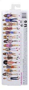 Barbie poupée mannequin  Fashionistas Original 104 - Checkered Chick-Arrière