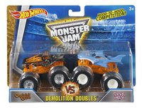 Hot Wheels Monster Truck Demolition Doubles Captain's Curse VS Shark Wreak