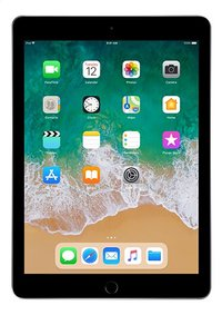 Apple iPad Wi-Fi 128 GB space grey-Vooraanzicht