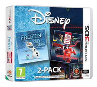 Nintendo 3DS Frozen / Big Hero 6 2-pack ENG/FR