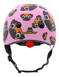 Mini Hornit kinderfietshelm Lids Pug Puppies Pink-Achteraanzicht