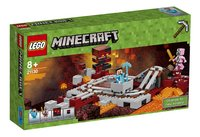 LEGO Minecraft 21130 De Nether spoorweg