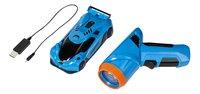 Air Hogs voiture RC Zero Gravity Laser bleu-Avant