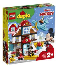 LEGO DUPLO 10889 La maison de vacances de Mickey-Côté gauche