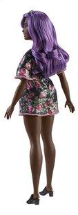 Barbie poupée mannequin  Fashionistas Curvy 125 - Pink Roses-Arrière