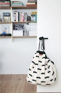 Play&Go couverture de jeu/sac de rangement Moustache-Image 1