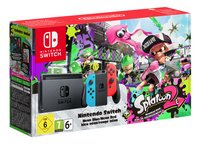 Nintendo Switch console + Splatoon 2