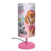 Tafellamp Paw Patrol roze