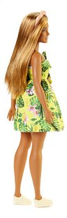 Barbie poupée mannequin  Fashionistas Curvy 126 - Yellow jungle-Arrière
