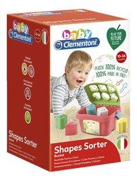 baby Clementoni trieur de formes Panier formes et couleurs-Côté gauche